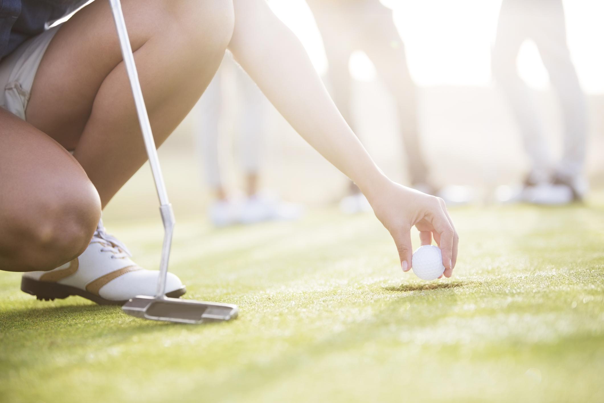 débuter en golf