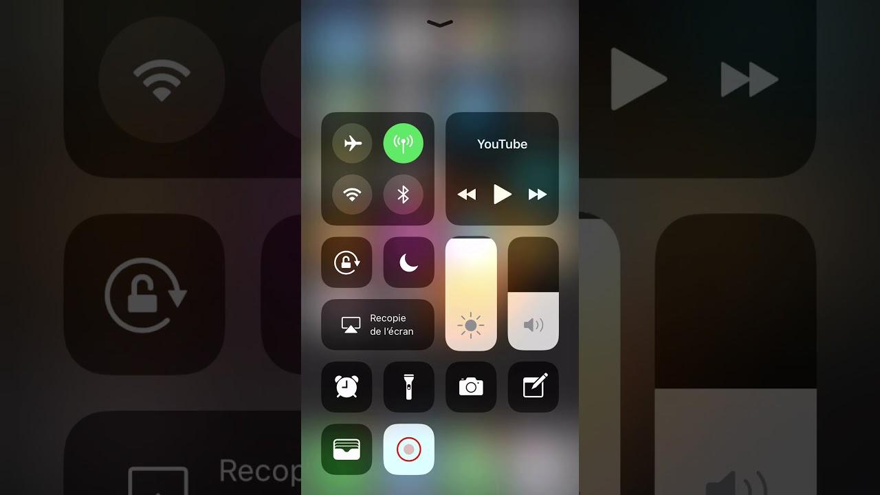 application filmer ecran telephone
